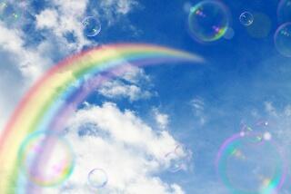 虹の架け橋写真